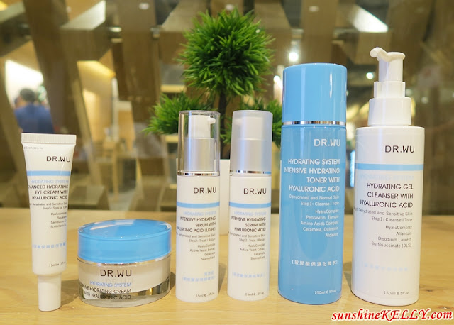 Dr Wu DD Cushion, Hyalucomplex Hydrating System & Mandelic Renewal System Skincare Tips Dr. Wu x Sa Sa Malaysia Beauty Workshop