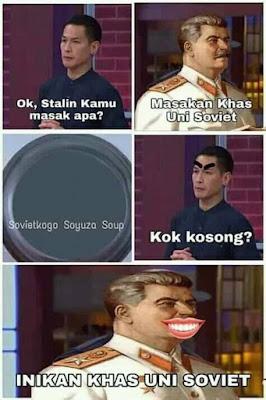 Meme MasterChef Indonesia 2019 - Masakan Uni Soviet