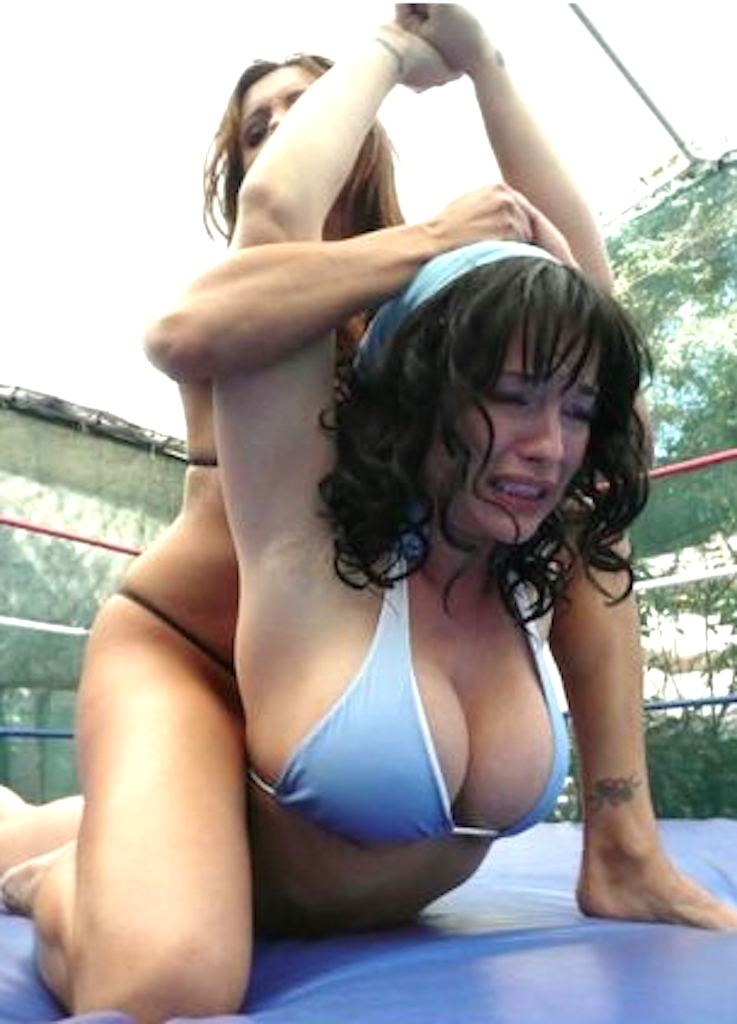 Mature Women Mixed Wrestling