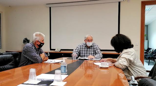 Συνάντηση του Δημάρχου για τα θέματα που αφορούν τον Σύλλογο Ποντίων Αμαρουσίου «Νίκος Καπετανίδης»