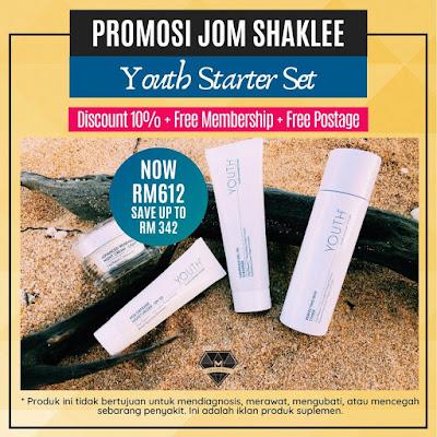 Promosi Jom Shaklee - Youth Starter Set