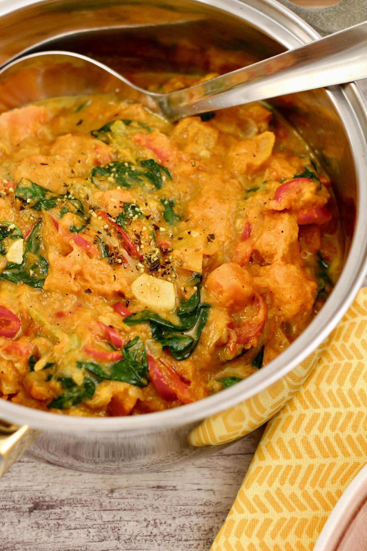 Wintergemüse Curry Rezept