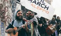 Η πανευρωπαϊκή πορεία στήριξης στο μαρτυρικό Χαλέπι έφτασε στην Καβάλα