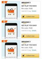 end Money & Unlock ₹50 Shopping Cashback Offer