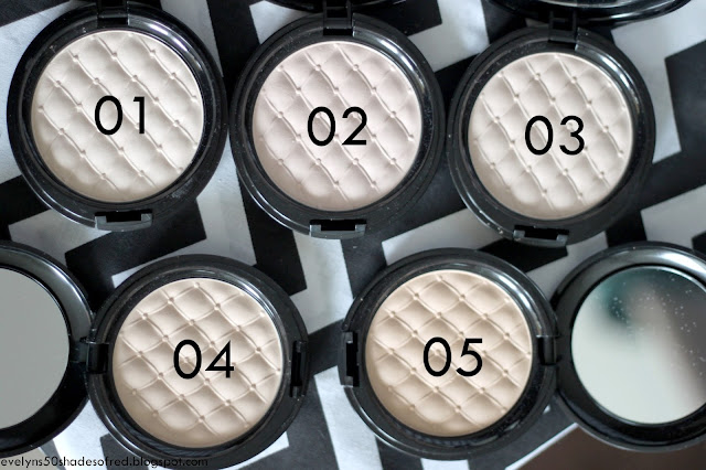 Bell Secretale Mat Compact Powder 01 02 03 04 05