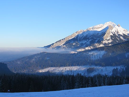 Dolina Białki i Tatry Bielskie.