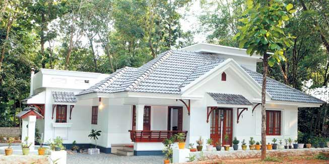 Kerala Beautiful Single Story Houses
