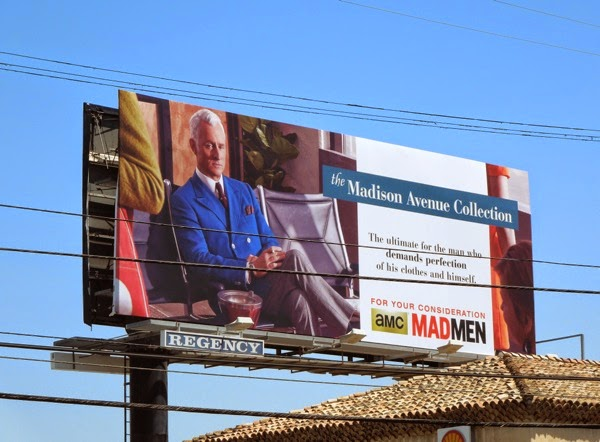 Roger Madison Avenue Mad Men Emmy 2014 billboard