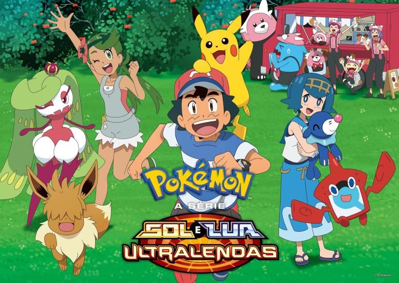 Pokémon Sol e Lua Ultra Lendas