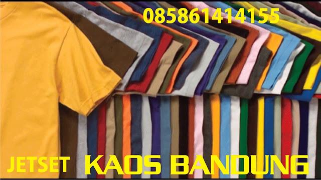 Tempat Pembuatan Berbagai macam Kaos baju Sablonan Murah Bandung