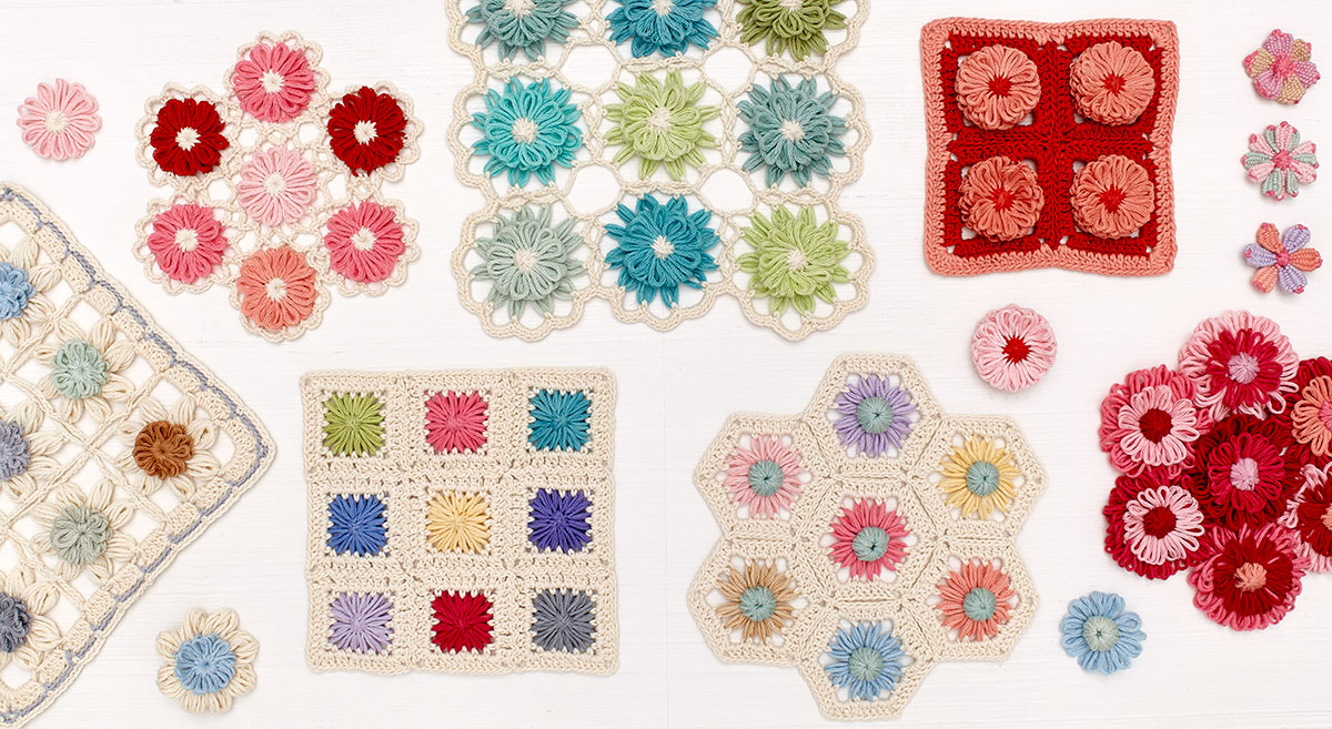 Notyourgrannyscrochet Diagram Crochet Patterns Crocheted Love Copy There Are 30 Different Flower She Creates With The Loom And Edgings So Just Think Of All That You Can Do Your Loomed Pieces