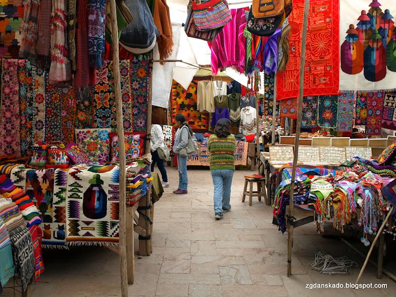 Market w Pisac