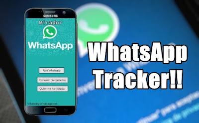 WhatsApp Tracker averigua quien te visita y que hace