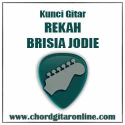 Kunci Gitar REKAH BRISIA JODIE REKAH