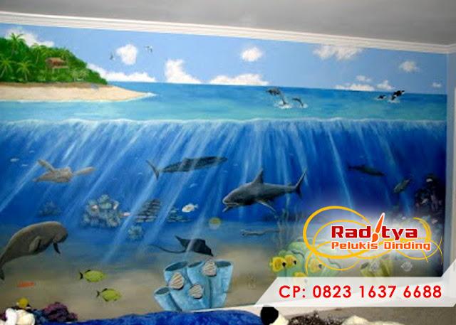 Lukisan tembok kamar anak