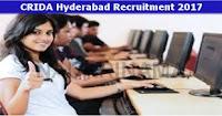 CRIDA Recruitment 2019 Computer Operator Posts