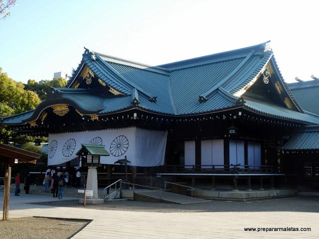 visitar Santuario Yasukuni en Tokio