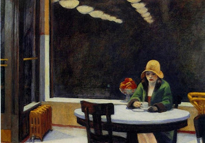 "Edward Hopper ""Automat"" (1927)"