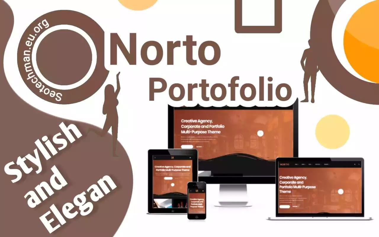 Template Wordpress: Norto - Responsif, Bersih, dan Juga Modern