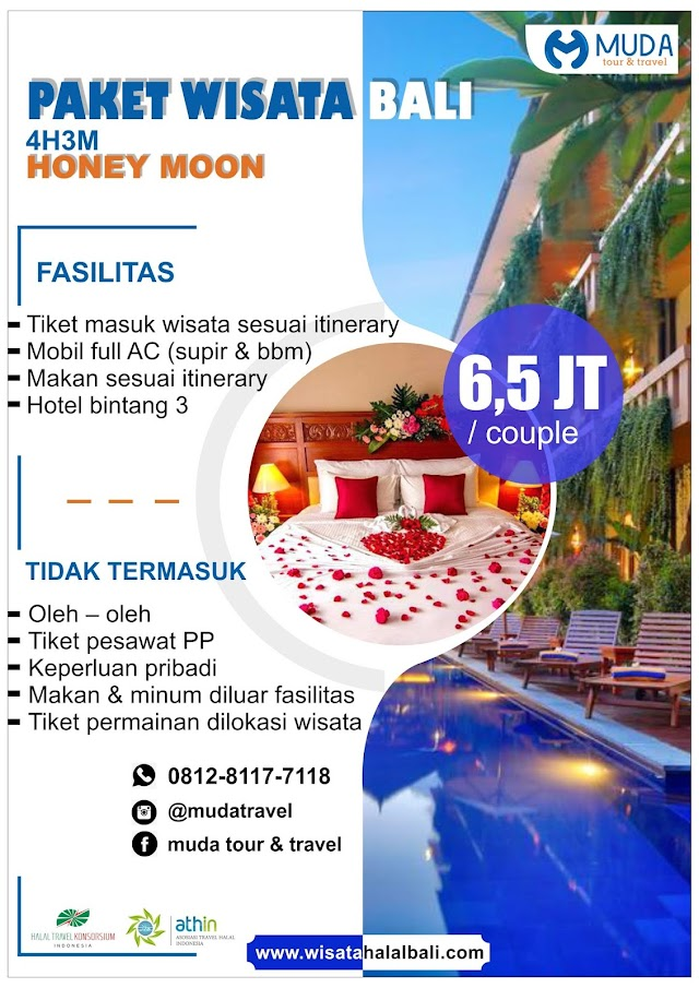 Paket Honey Moon 4H3M
