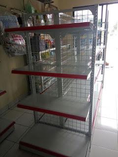Rak Minimarket Toko Susu Jasmine Pasar Kemis Tangerang