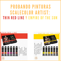 Scalecolor Artist: Thin Red Line y Empire of the Sun de la marca Scale75
