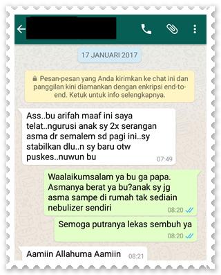 Contoh Surat Izin Sakit Lewat WhatsApp (via: gambarstatuswhatsapp.blogspotcom)