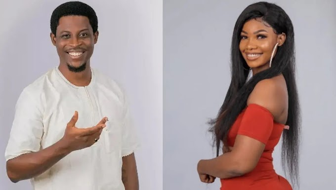 BBNaija: 'Seeing you with other guys gets me jealous' – Seyi breaks down to Tacha