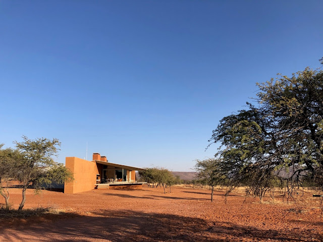 The unique character of this hunting lodge, Namibia