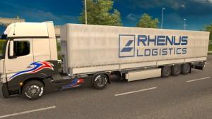 New Rhenus Logistics trailer mod
