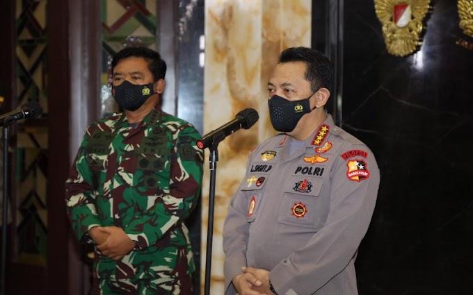 Silaturahmi ke Panglima TNI, Kapolri Tekankan Sinergitas dan Soliditas