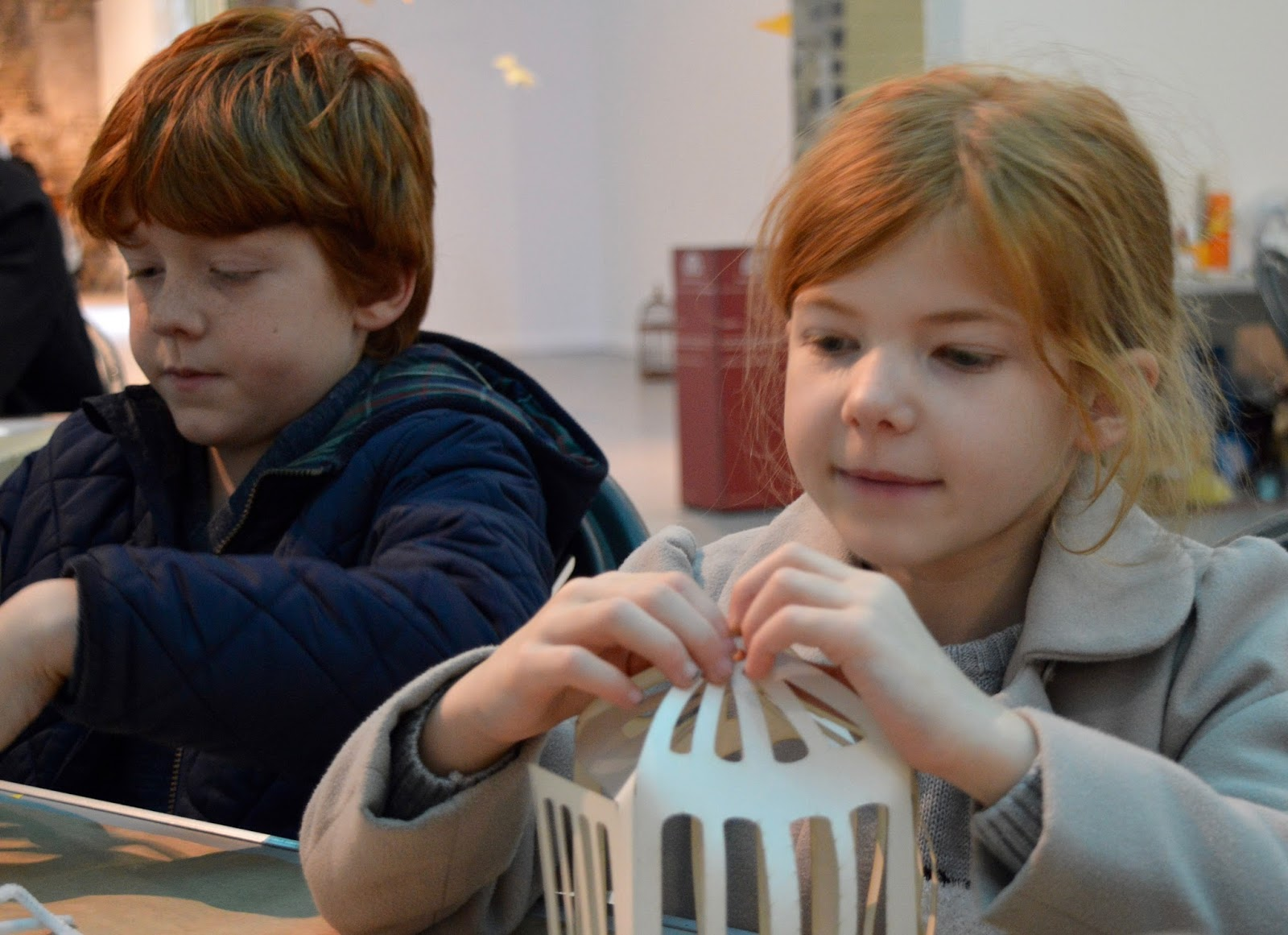 Frost of Forgetfulness | A FREE Winter Trail and activity at Woodhorn Museum in Northumberland (continues until 23rd December) - free canary and bird cage craft