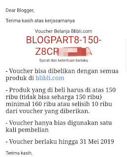voucher bliblicom dari blogpartner