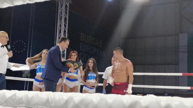 Атанас Божилов е победителят от турнира Pro fight 16