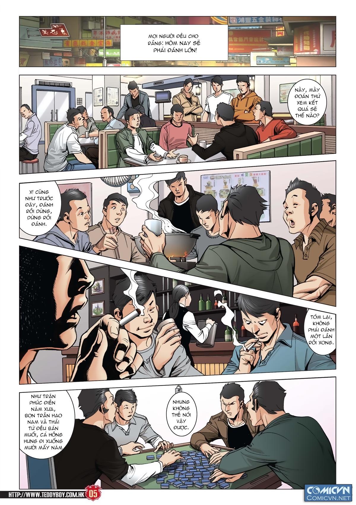 Người Trong Giang Hồ chapter 2011: hàn tân bỏ trốn trang 4