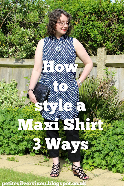 How to style a Maxi Shirt 3 Ways | Petite Silver Vixen