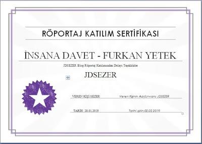 sertifika röportaj