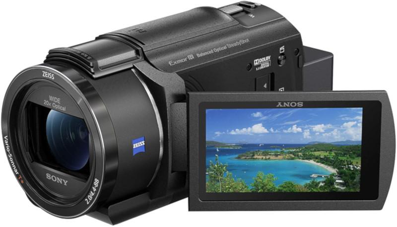 Sony FDR-AX43 – Videocamera Digitale 4K Ultra HD con Sistema di stabilizzazione integrato a cinque assi