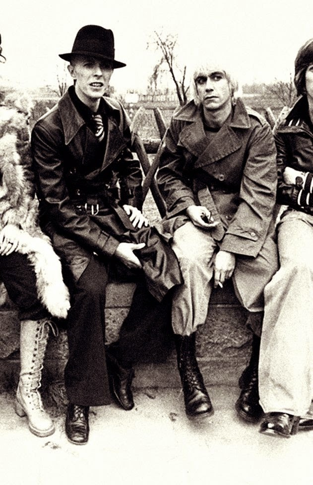 Rare and Interesting Photos of David Bowie and Iggy Pop in ...