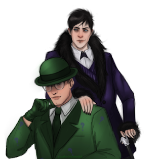 penguin, riddler, nygma, ed nygma, edward nygma, batman, dc, dceu, the batman, gotham