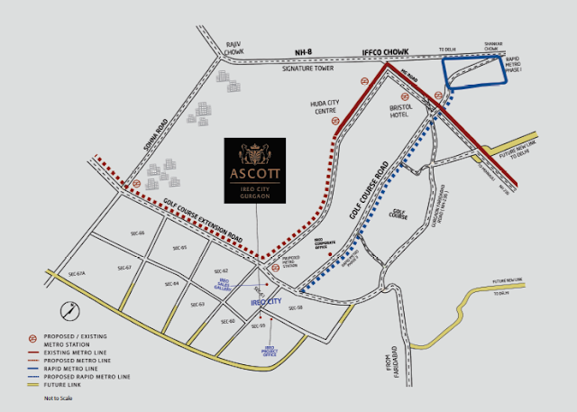Location map - Ascott Ireo City