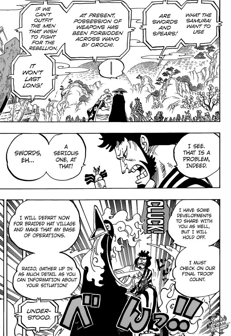 One Piece Manga Chapter 952 - Image 013