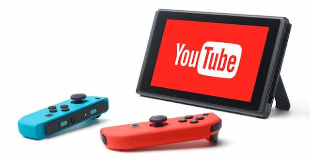 Nintendo Switch espera tener la App de youtube pronto!