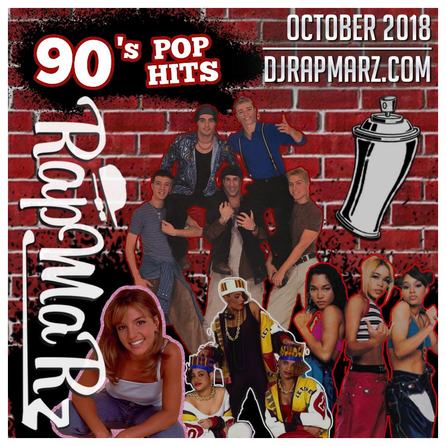 90s Pop Hits - October 2018 RapMaRz Radio podcast