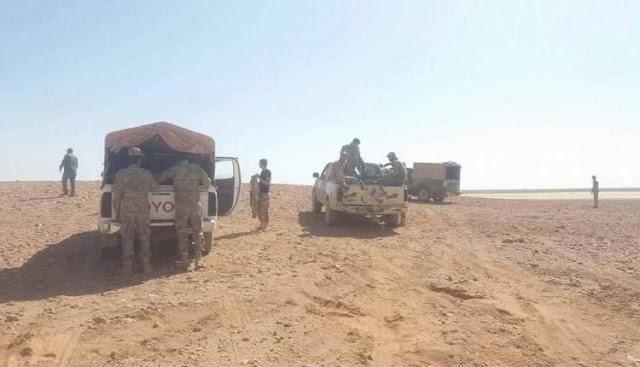 Bus Yang Membawa Tentara Rezim Syiah Nushairiyah Jadi Sasaran Serangan Bom Ranjau