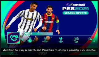 Download PES 2021 PPSSPP Season Update Bendezu Chelito V3 Best Graphic HD New Kits & Update Transfers