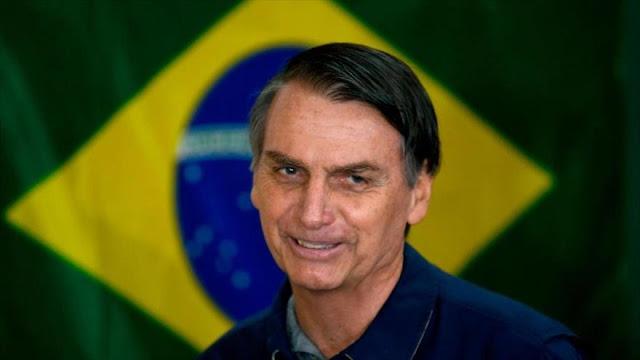 Bolsonaro promete cortar lazos con Cuba y presionar a Venezuela