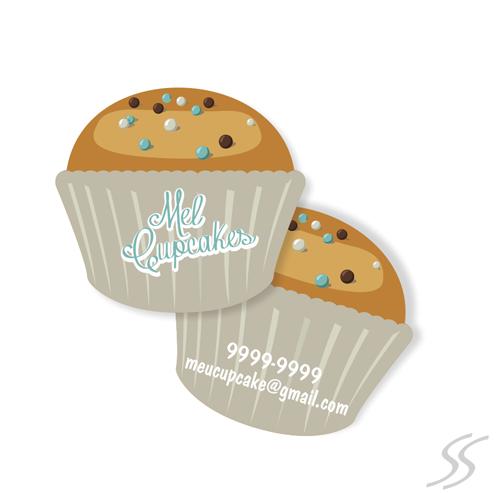 cartao de visita formato de cupcake03 - Variedades de Cartões de Visita