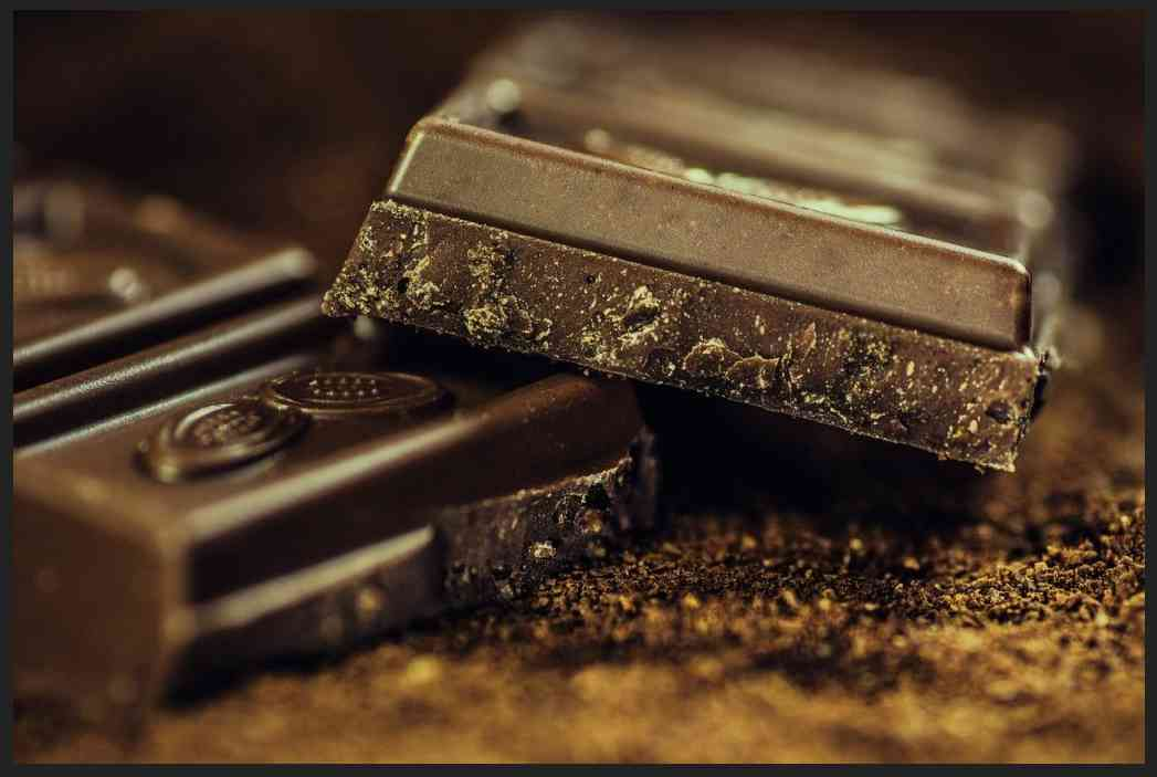Darkish Chocolate –Rich in Flavonoids