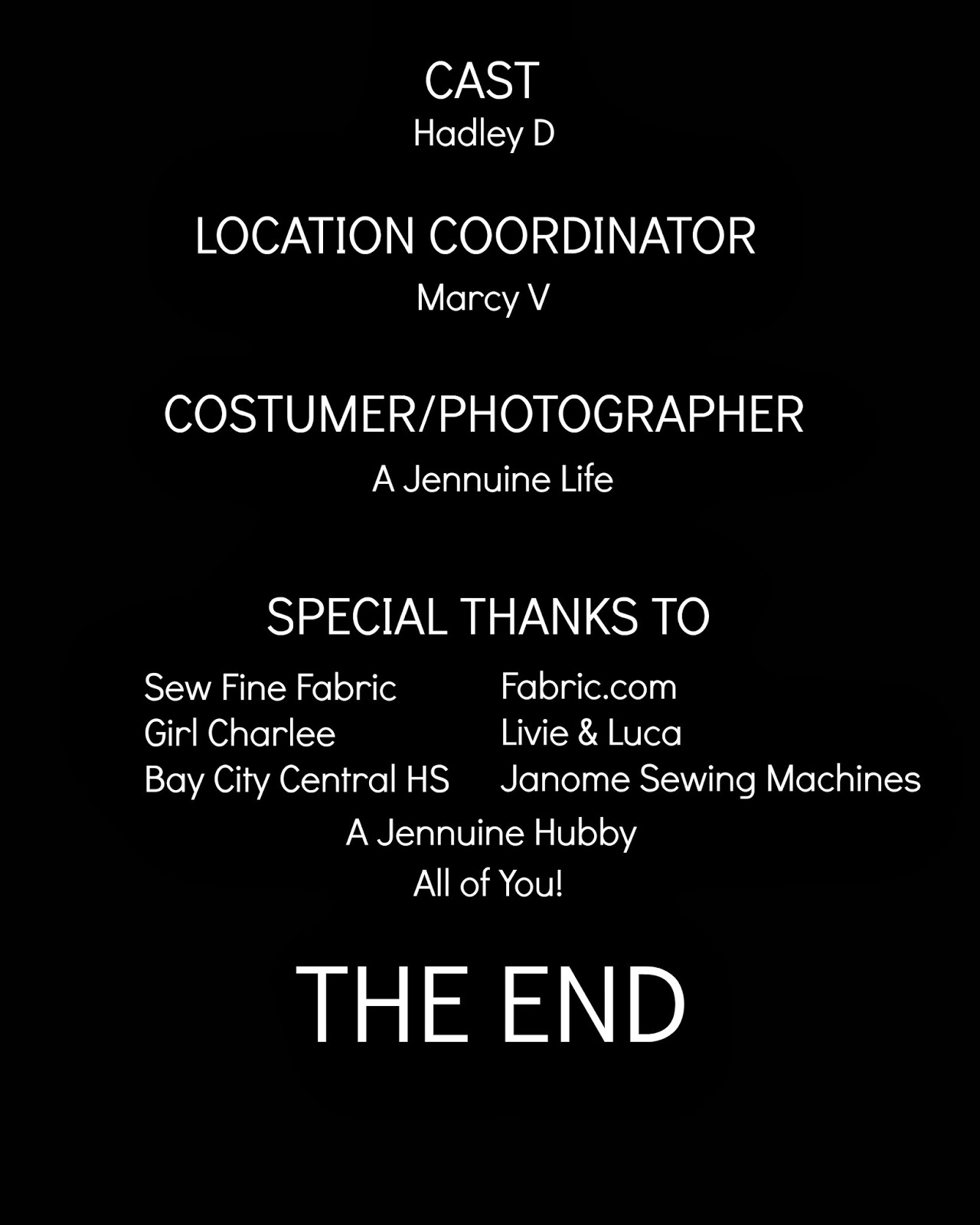 Movie Credits Template Out on the movie theme to
